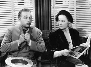 Bing Crosby And Mary Carlisle In 'Doctor Rhythm'